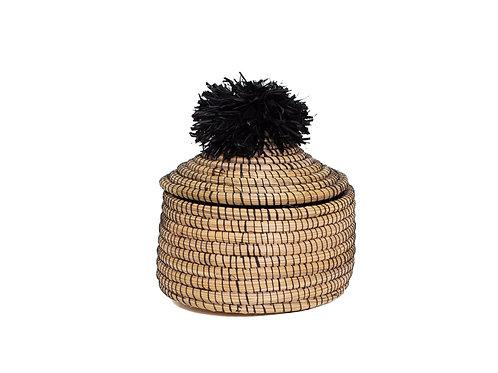 Black Penelope Pom Pom Box