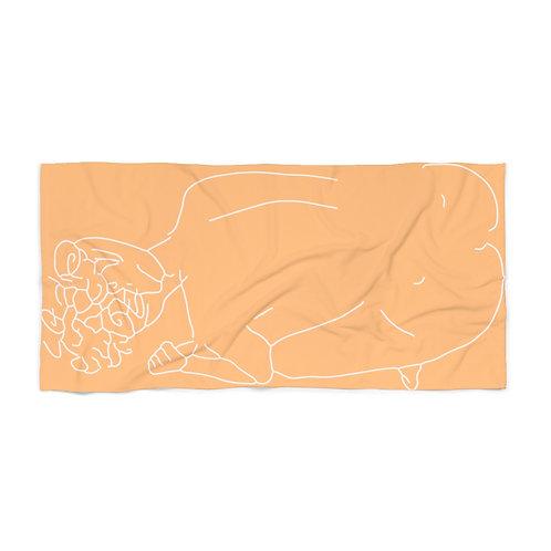 Skinny Dip by A. Talese - Beach Towel