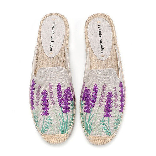 The Lily Lavender Slip-on