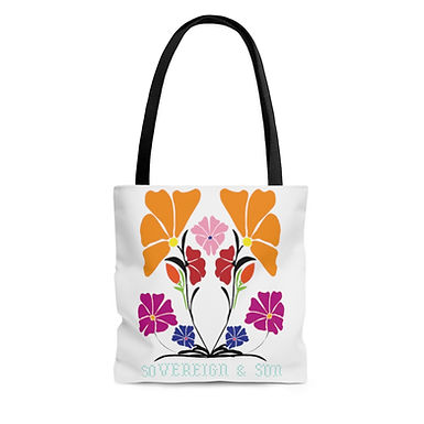 Wildflower by A. Talese - Farmer's Market Tote