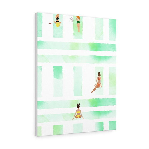 Bikini Season by A.Talese - Gallery Wrap Print on Canvas