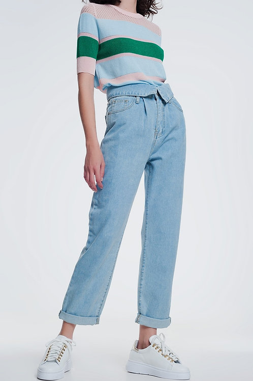 Not Your Mother's High Waisted Jeans