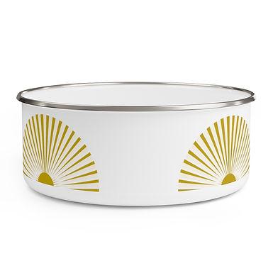 Sol - Enamel Bowl