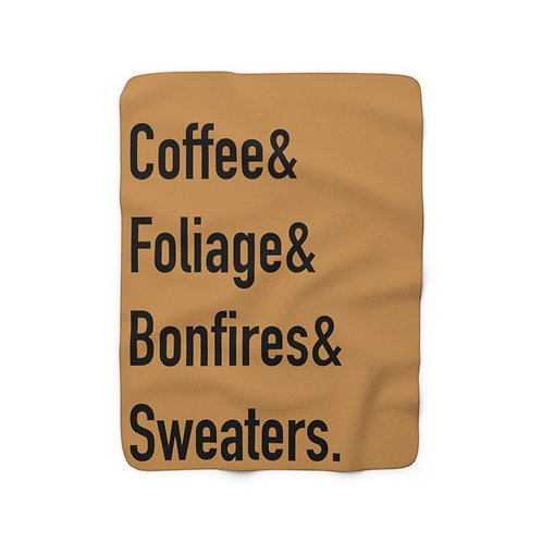Autumn Feels By A.Talese - Throw Blanket
