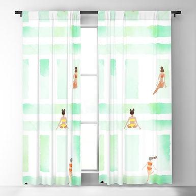 Bikini Season by A.Talese - Blackout Curtain Panels