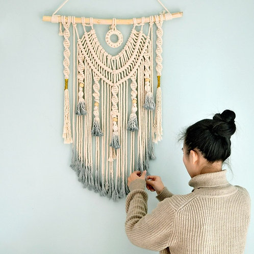 The Native Macrame Wall Tapestry