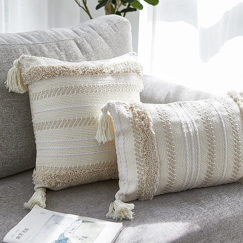 The Fringe- Tufted & Tassled Pillow Covers