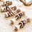 Thumbnail: Boho Beechwood Baby Teething Rattles