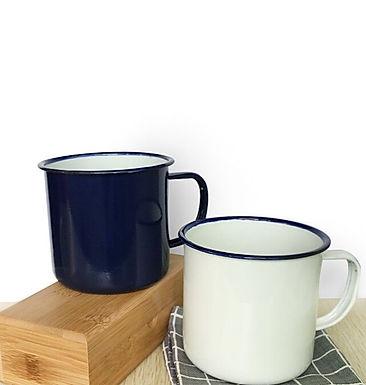 Enamel Farm House Mug