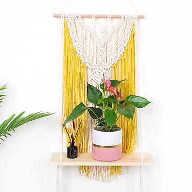 The Island Sun Macramé Plant Tapestry