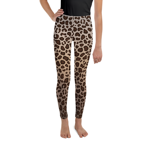 Leopard Print Youth Leggings