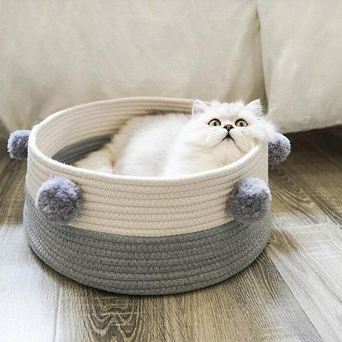 The Penelope Pom Pom Cat Beds