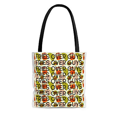 Fries Over Guys - Large Tote By A.Talese