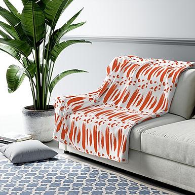 Coral Reef-Sherpa Fleece Blanket