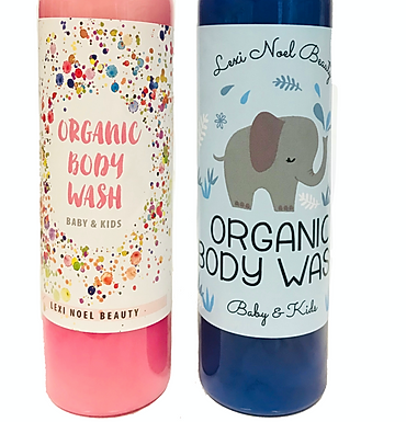 Lexi Noel Beauty Organic Vegan Kids and Baby Body Wash