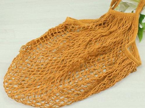 Reusable Nautical Net Farmer's Market Tote