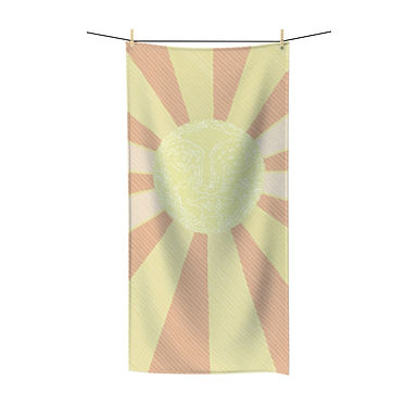 Glowing Up by A. Talese - Bath Towel