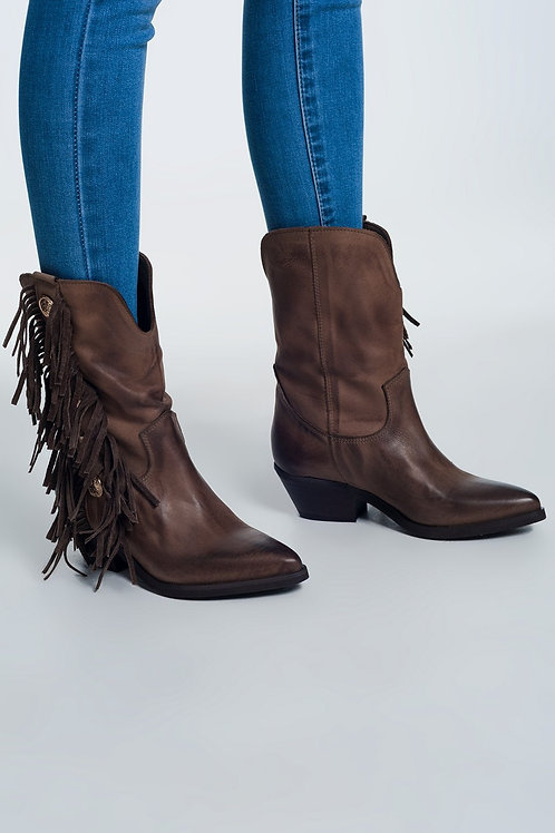 Wild West Fringe Boot
