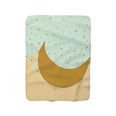 Moon & Back by A.Talese - Throw Blanket