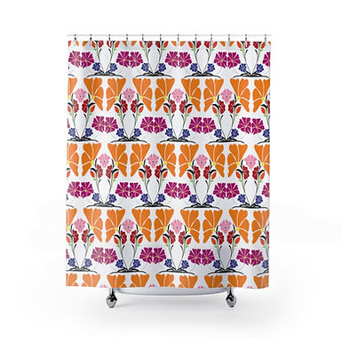 Flora by A. Talese - Shower Curtains