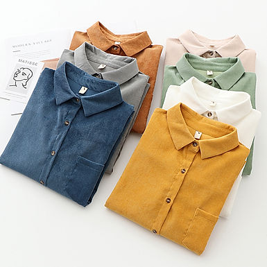 The Weekend Corduroy Button Down
