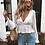 Thumbnail: The Regina Ruffle Crop Blouse