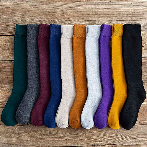 Women's Colorful  Wool- Cashmere  Socks