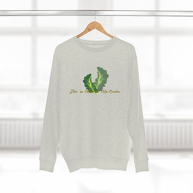 You're Kale-in' Me Smalls! by A.Talese - Unisex Casual Fit Crewneck