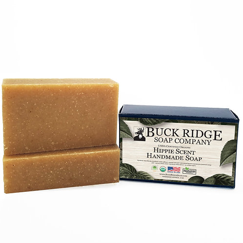 Hippie Scent Handmade Soap - USDA Certified Organic