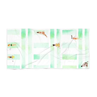 Bikini Season by A. Talese - Beach Towel