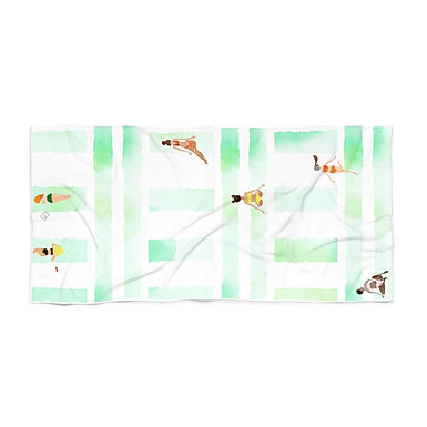 Bikini Season by A. Talese - Beach Towel