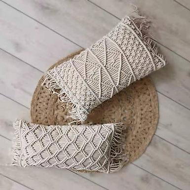Macrame Handmade Cotton Thread Pillow Cover