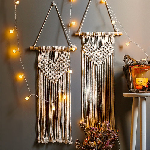 I Love Macrame Wall Hanging Tapestry