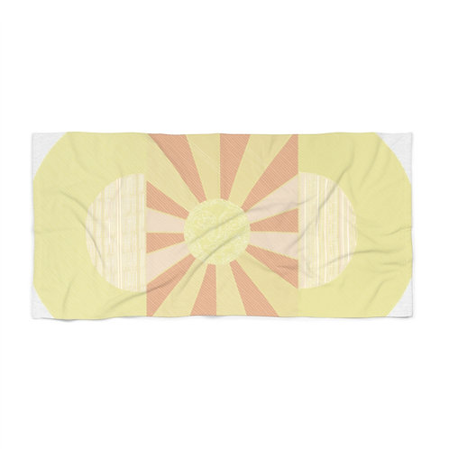 Glowing Up - Beach Towel