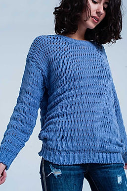 Study Hall Drop Stitch Sweater