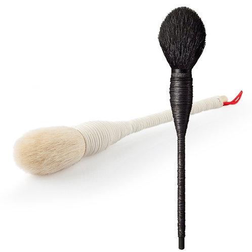 Natural Rattan & Goat Wool Cosmetic Brush