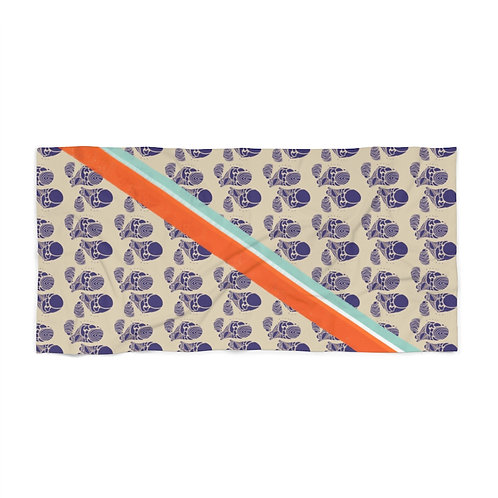 Bohemian Barnacles by A. Talese - Beach Towel