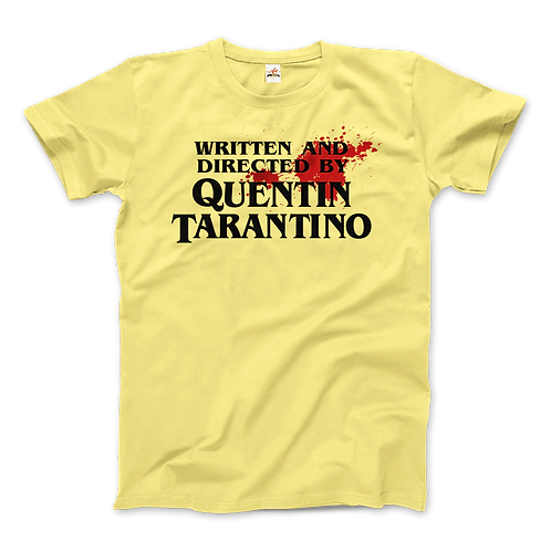 Written and Directed by Quentin Tarantino - Artwork T-Shirt
