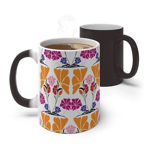 Flora by A. Talese - Color Changing Mug