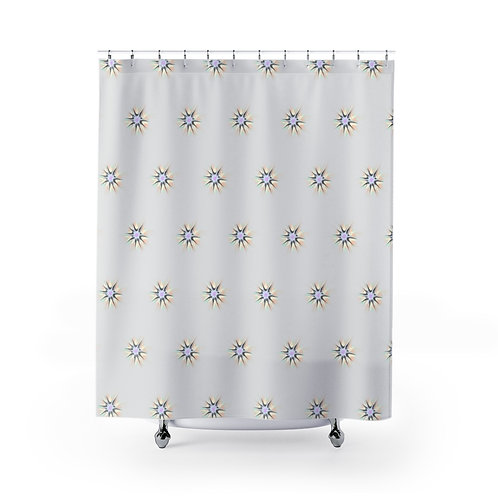 Cellestial by A. Talese - Shower Curtains