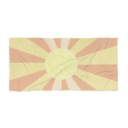 Glowing Up by A.. Talese - Beach Towel