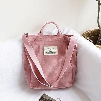 Cool & Collected Corduroy Shoulder Bag