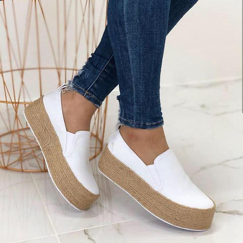 Summer Staple Platform Slip On