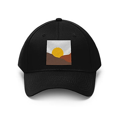 Embroidered Unisex Dad Hat - Goodnight Sun by A.Talese