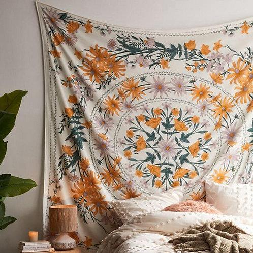 Folks & Florals Tapestry