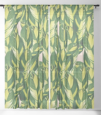 Abroad by A.Talese- Curtain Panels
