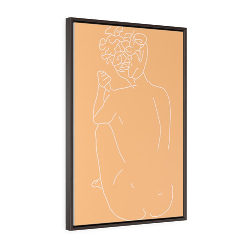 Skinny Dip by A.Talese - Framed Gallery Wrap Print on Canvas
