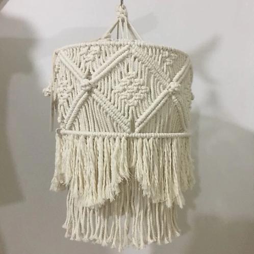 3 Unique Styles! Tribal Pattern Macrame Chandelier Shade
