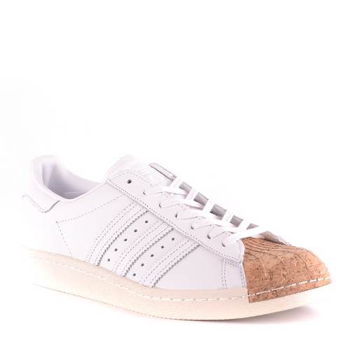 Special Collection - Adidas Casual White & Cork Toe Sneaker
