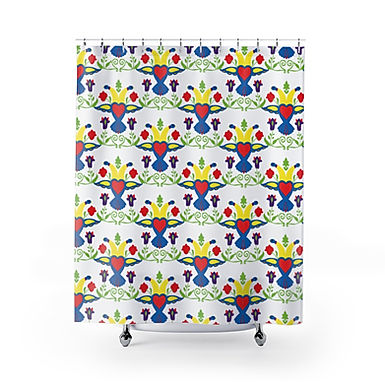 Free Bird by A. Talese - Shower Curtains